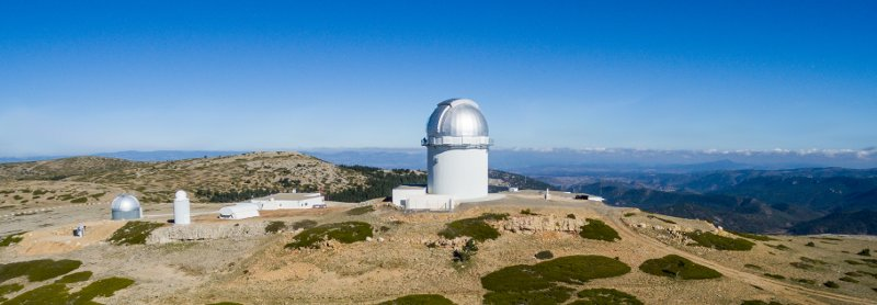 General view of the Observatorio Astrofísico de Javalambre