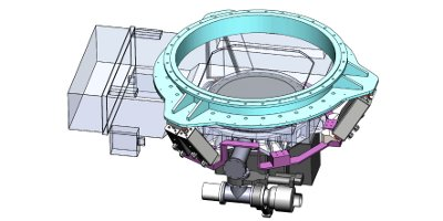 Preliminary design of the JPCam actuator system